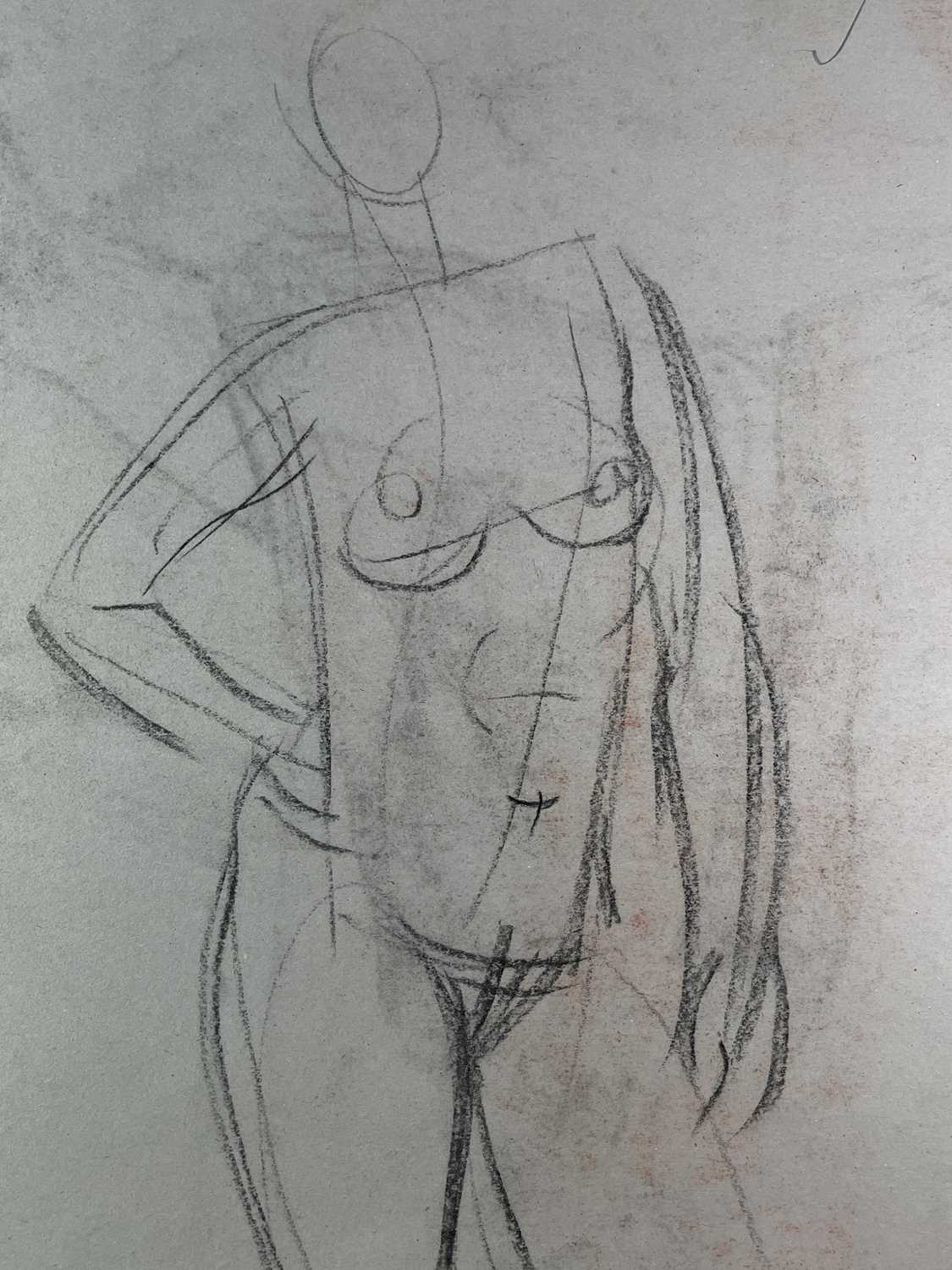 Alec WILES (1924) Nude drawings A collection of twenty Mostly signed Mostly 60x42 - Image 7 of 20