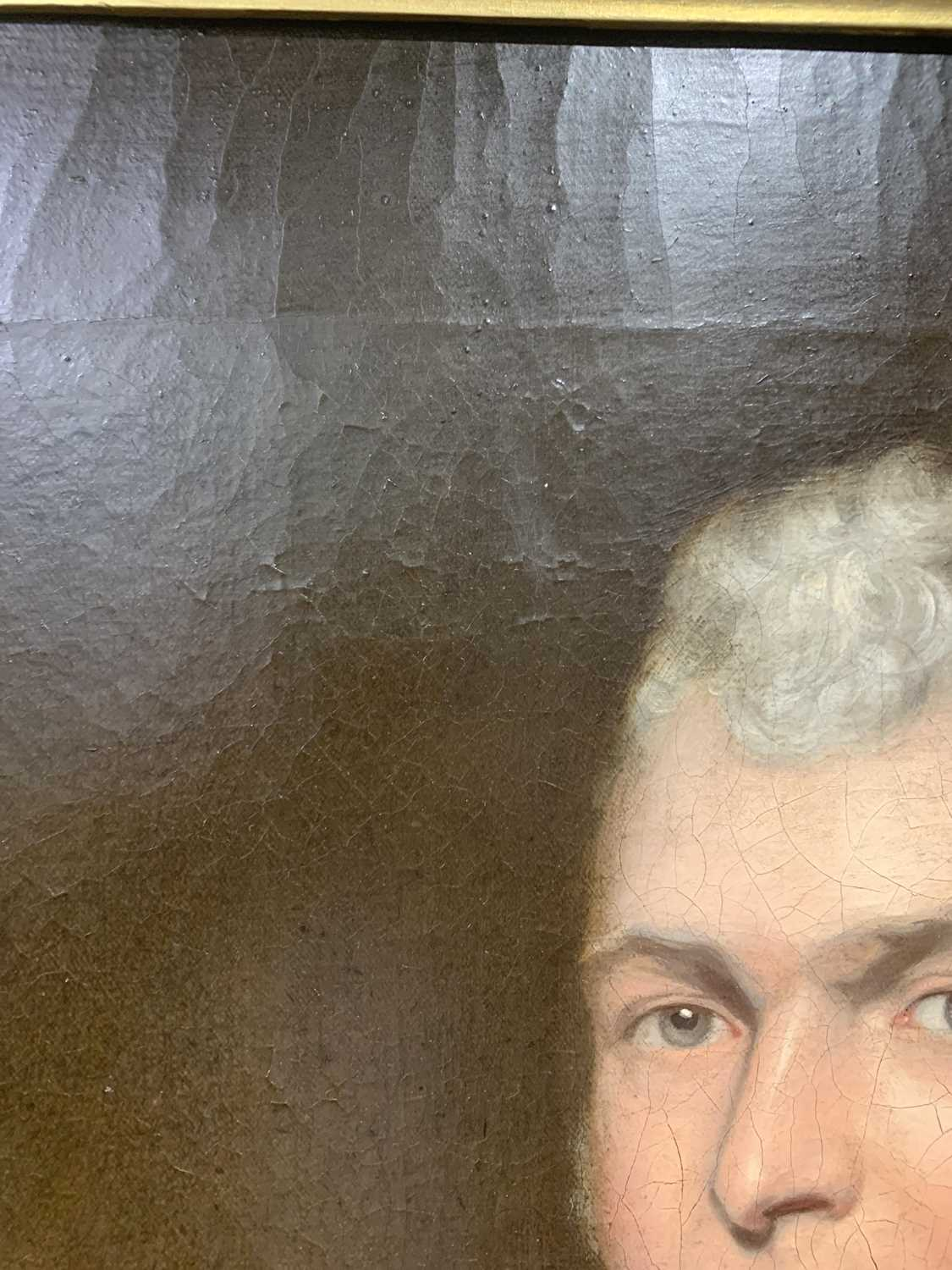 Circle of John OPIE (1761-1807) By repute, a portrait of a member of the Pitcairn family, possibly - Image 6 of 9