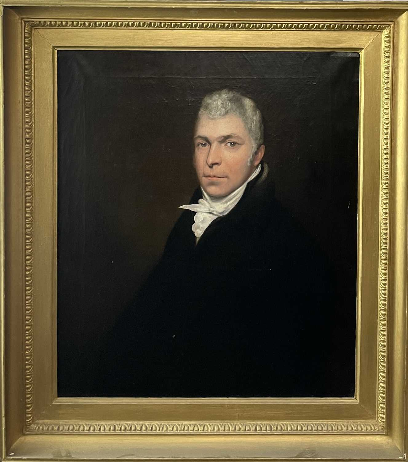 Circle of John OPIE (1761-1807) By repute, a portrait of a member of the Pitcairn family, possibly - Image 3 of 9