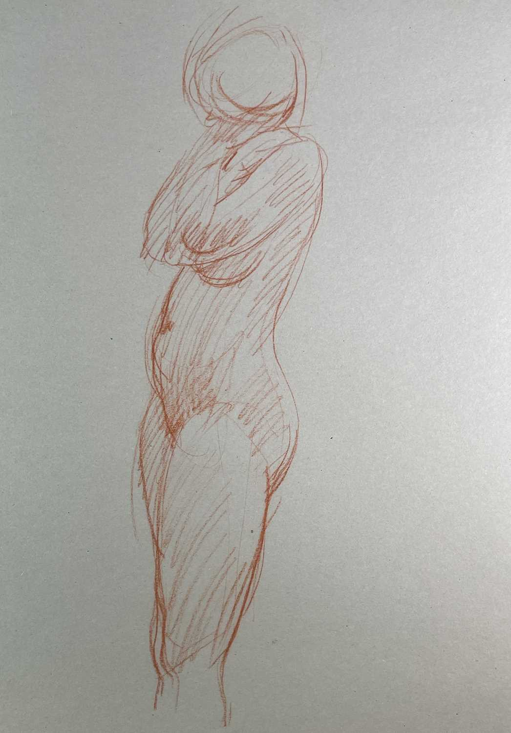 Alec WILES (1924) Nude drawings A collection of twenty Mostly signed Mostly 63x42 - Image 7 of 17