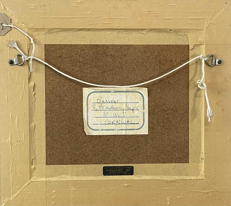 Garlick BARNES (1891-1987)BarnOil on boardInscribed label to verso 23 x 27cm Garlick Barnes 1891- - Image 2 of 3