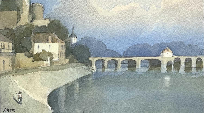 Ken SYMONDS (1927-2010)Pont d'Avignon, FranceWatercolourSigned 19 x 33cm&Still Life Watercolour - Image 4 of 7