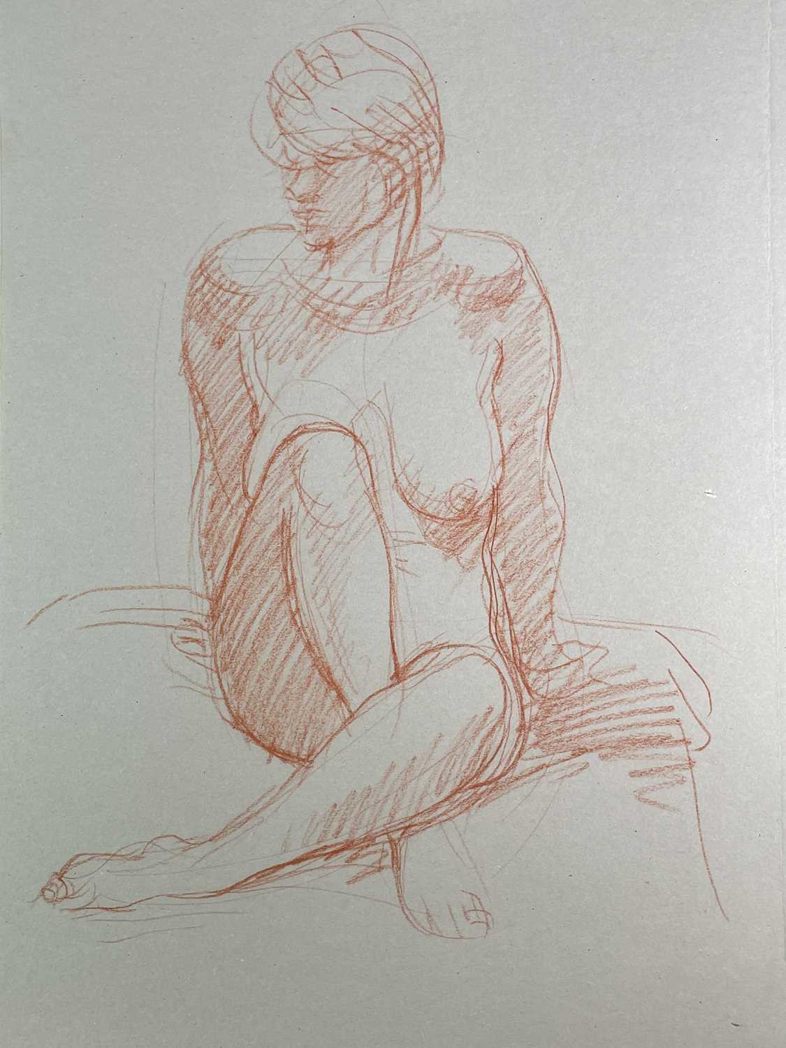 Alec WILES (1924) Nude drawings A collection of twenty Mostly signed Mostly 63x42 - Image 8 of 17