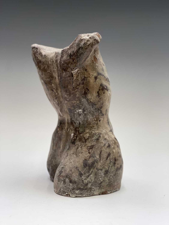 Alec WILES (1924)Female Torso Plaster sculpture Height 29cm - Image 9 of 12