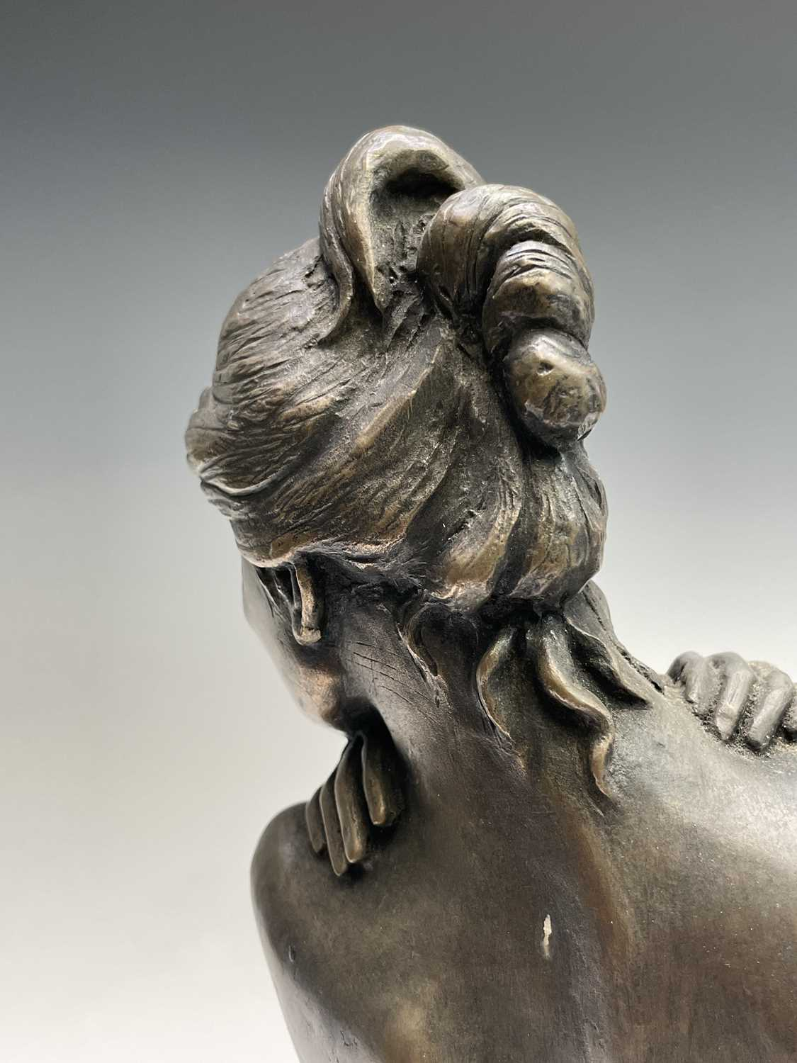 Alec WILES (1924)Female Form Bronzed resin sculpture Signed Height 36.5cm - Image 9 of 11
