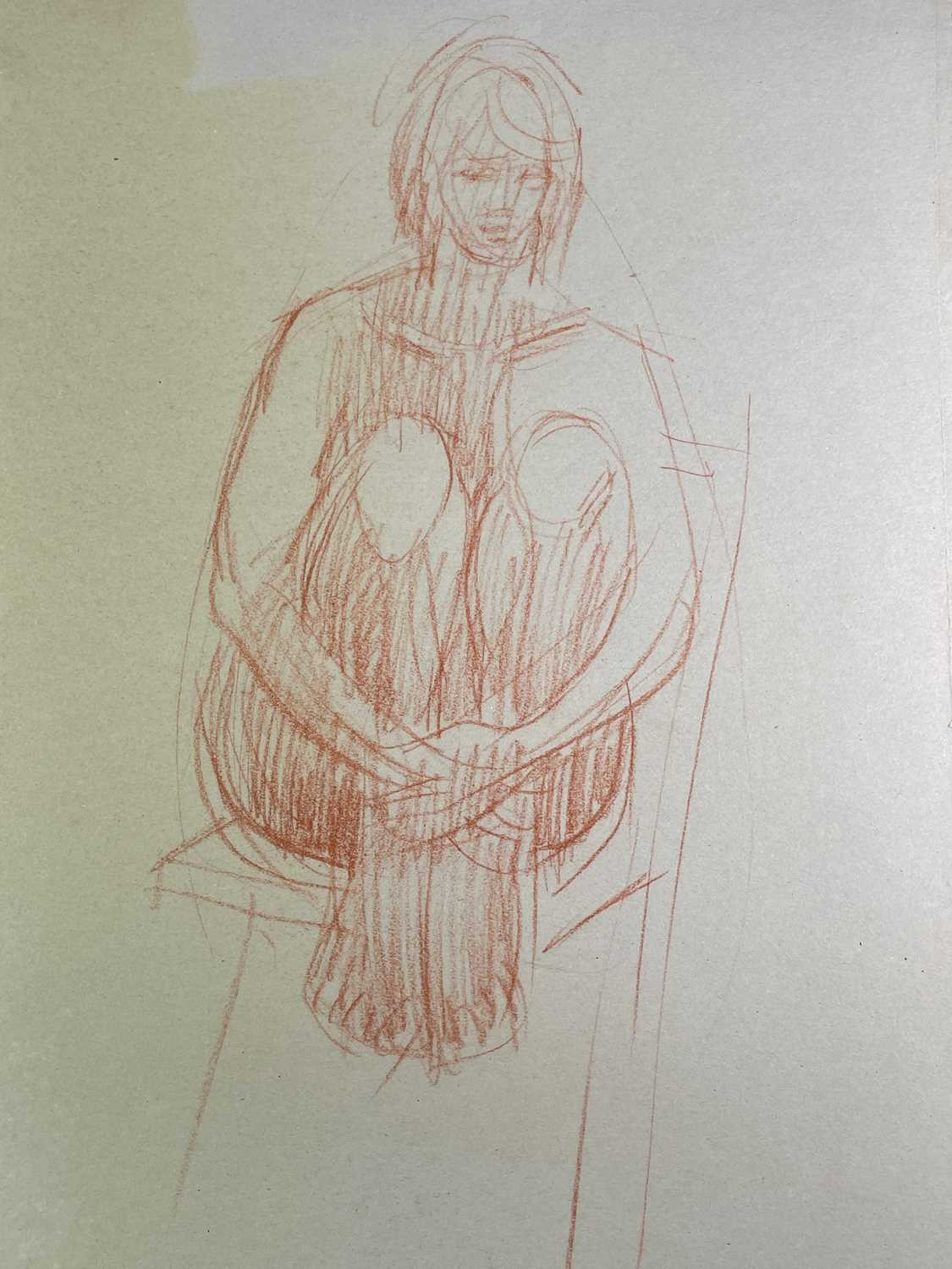 Alec WILES (1924) Nude drawings A collection of twenty Mostly signed Mostly 63x42 - Image 6 of 17