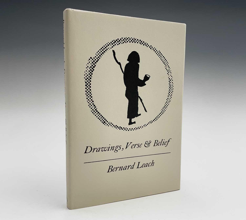Bernard Leach - a signed copy of 'Drawings, Verse & Belief'.