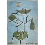 William BLACK (20th Century British)SculptureGouache and ink Signed, inscribed and dated '6420 x