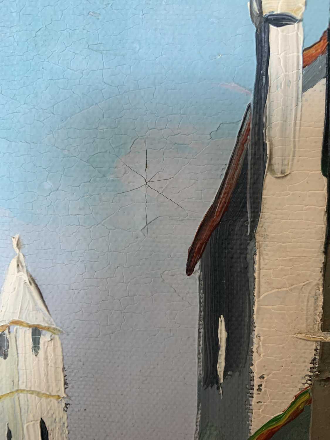 Cecil Rochfort DOYLY-JOHN (1906-1993)Venice Oil on canvas Signed 70 x 34cmCondition report: This oil - Image 5 of 8