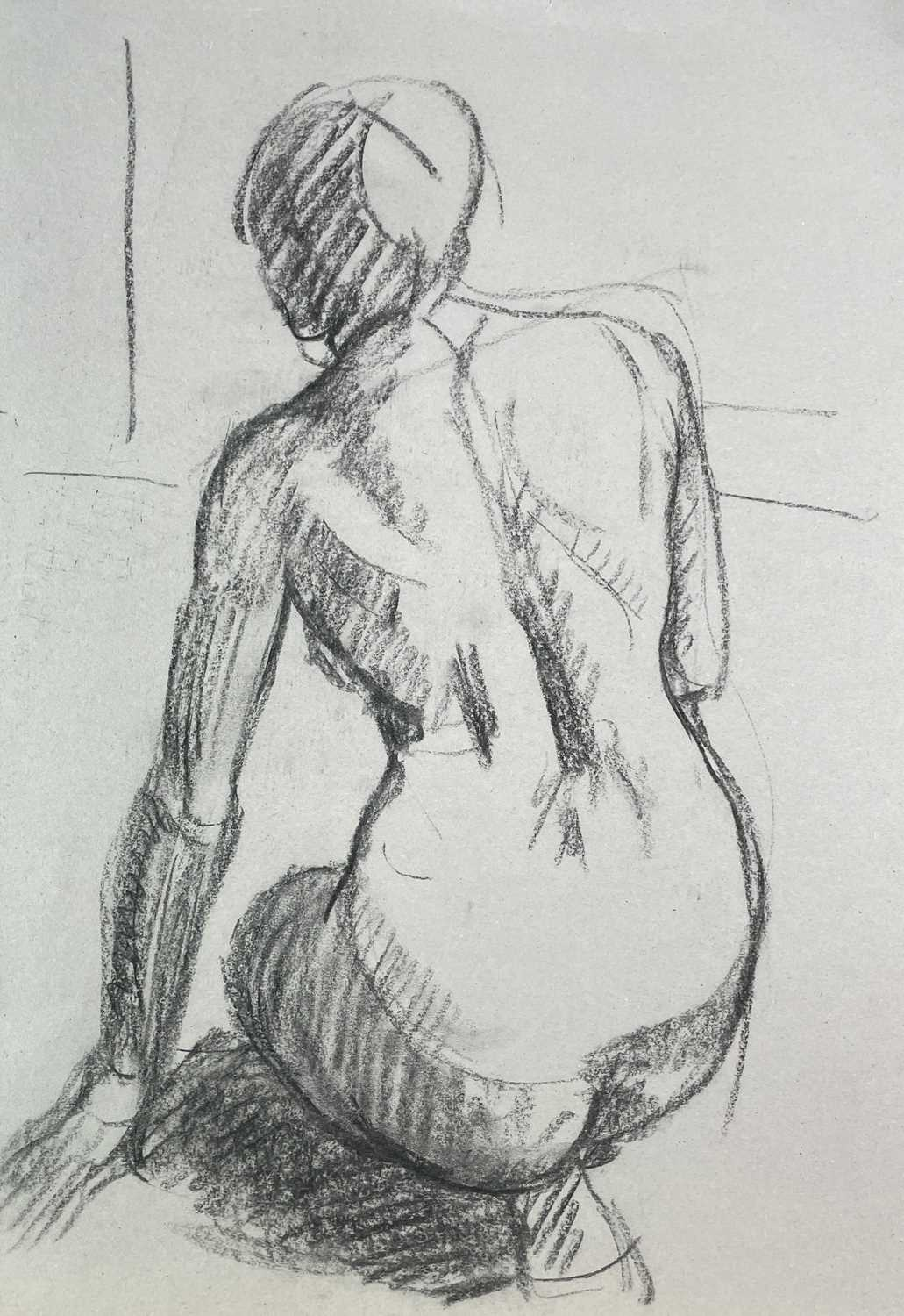 Alec WILES (1924) Nude drawings A collection of twenty Mostly signed Mostly 60x42 - Image 13 of 20
