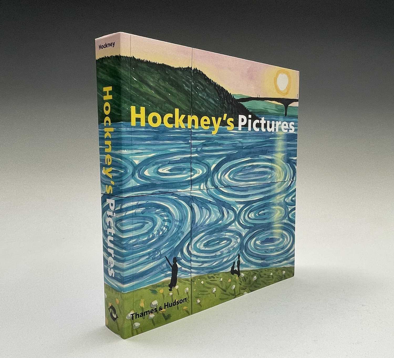 Three David Hockney publications: Portrait of David Hockney, Peter Webb, first edition 1988, - Image 6 of 7