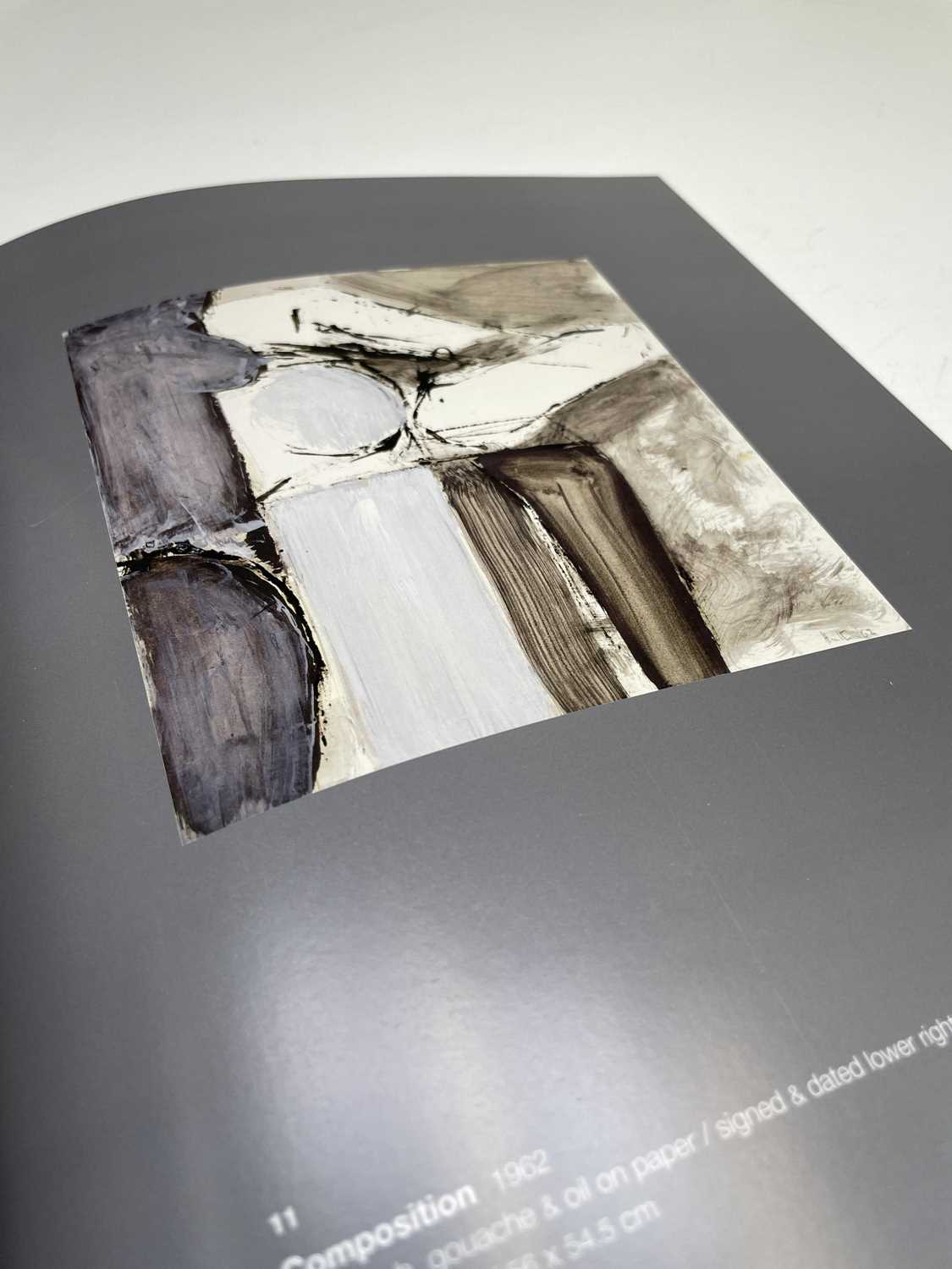 'adrian heath - paintings from the late sixties' Jonathan Clark Fine Art catalogue - Image 2 of 5
