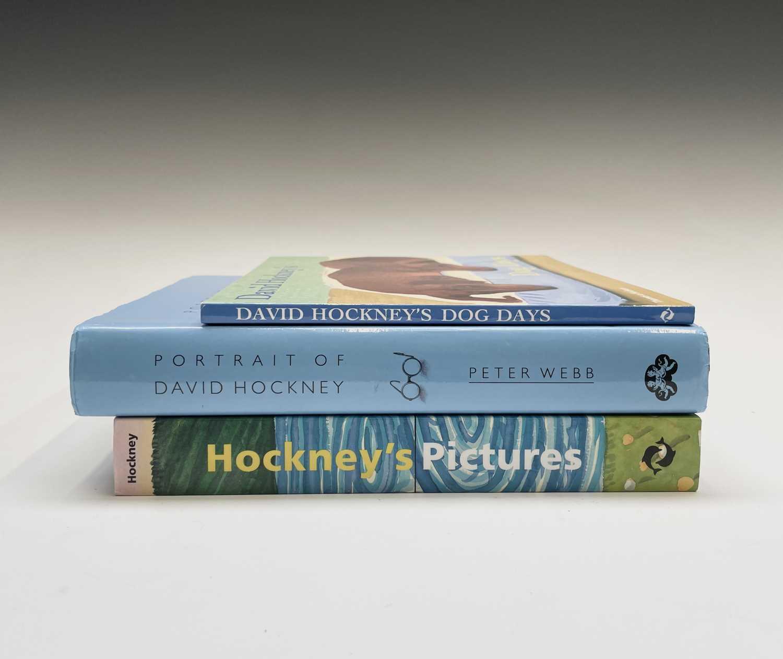 Three David Hockney publications: Portrait of David Hockney, Peter Webb, first edition 1988, - Image 2 of 7