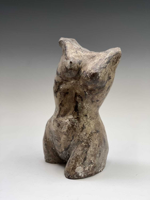 Alec WILES (1924)Female Torso Plaster sculpture Height 29cm - Image 4 of 12