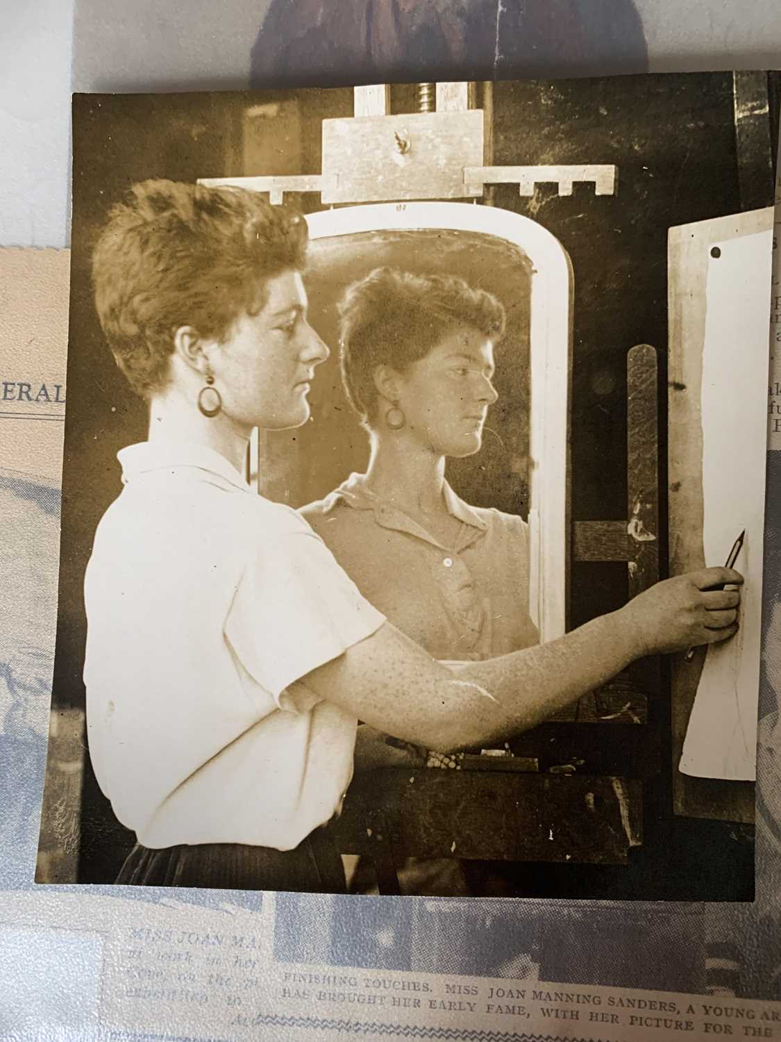 Joan Manning Sanders 1913-2002 Her personal archive. A fascinating collection of photographs and - Image 27 of 32