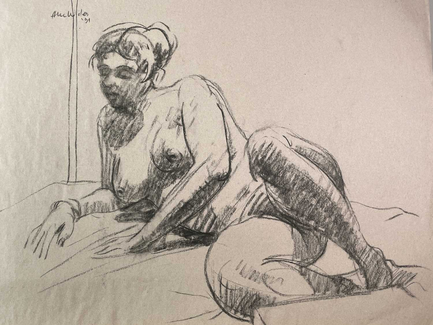 Alec WILES (1924) Nude drawings A collection of twenty Mostly signed Mostly 60x42 - Image 11 of 20