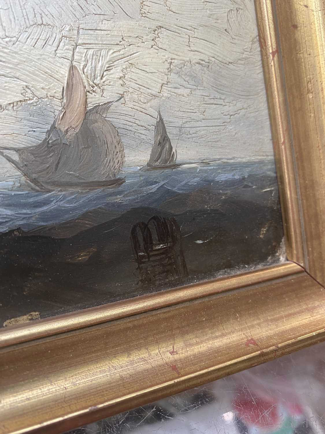 Charles TAYLOR (act.1836-1871) A Hulk Adrift Watercolour Signed 21.5x48cm Together with a small - Image 12 of 12