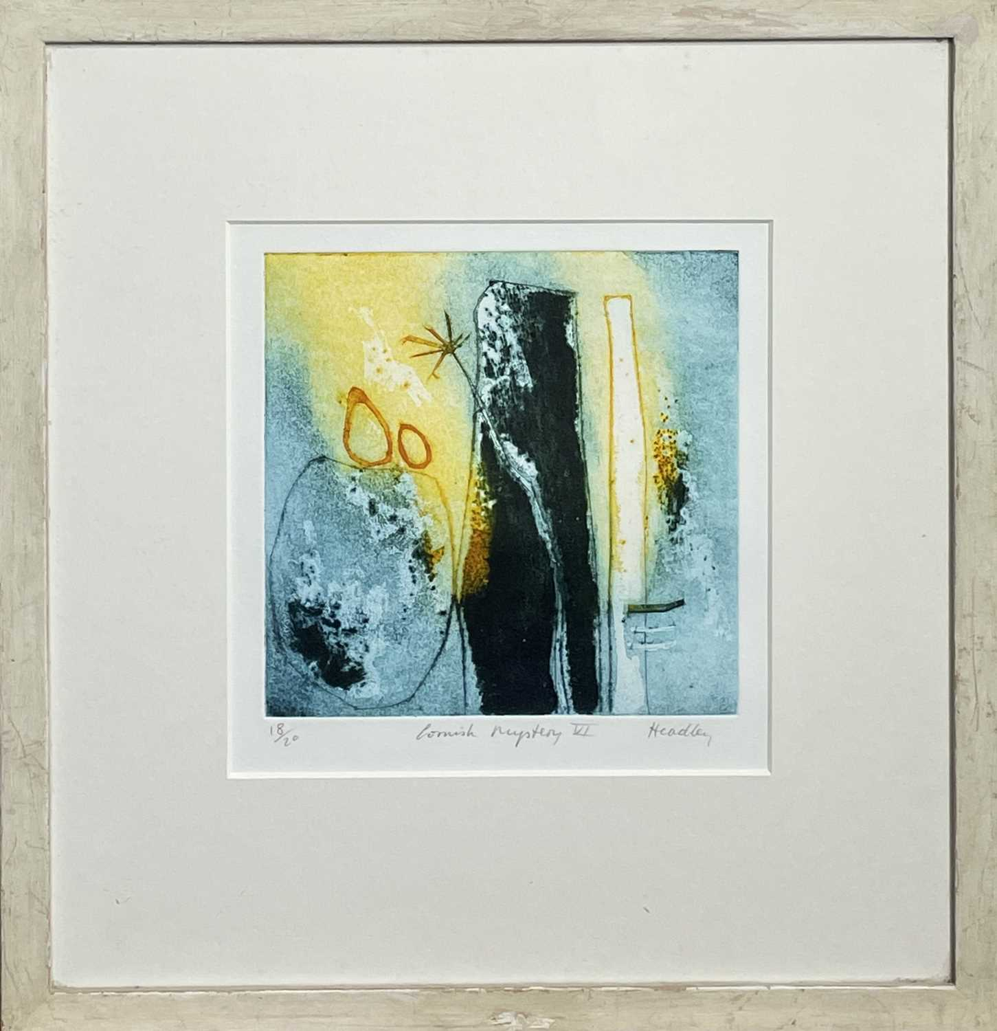 HEADLEY Cornish Mystery VIColoured etching Signed and inscribed 17.5 x 18cmTogether with ' - Image 3 of 9