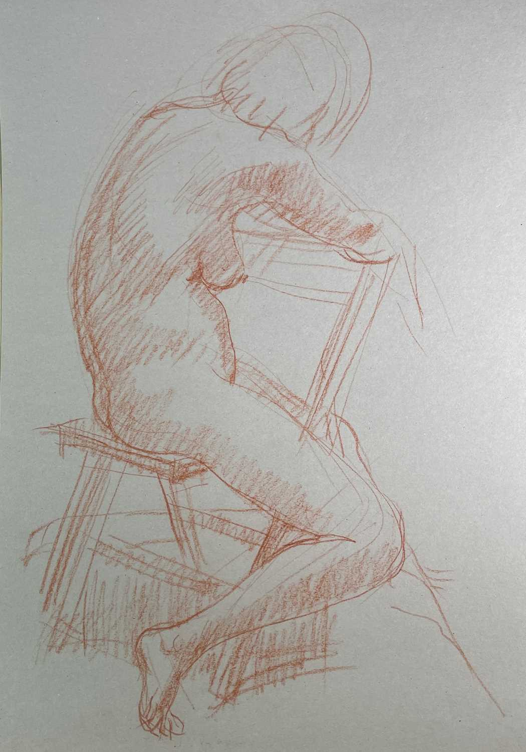 Alec WILES (1924) Nude drawings A collection of twenty Mostly signed Mostly 63x42 - Image 3 of 17