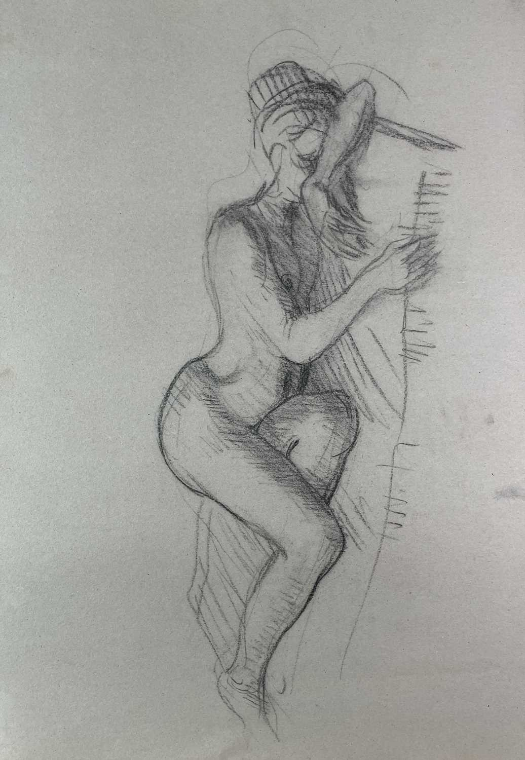 Alec WILES (1924) Nude drawings A collection of twenty Mostly signed Mostly 63x42 - Image 10 of 17