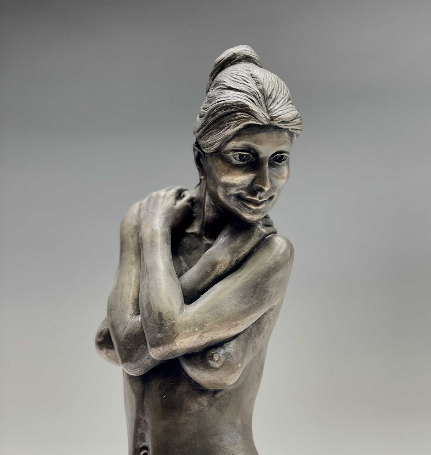 Alec WILES (1924)Female Form Bronzed resin sculpture Signed Height 36.5cm - Image 8 of 11