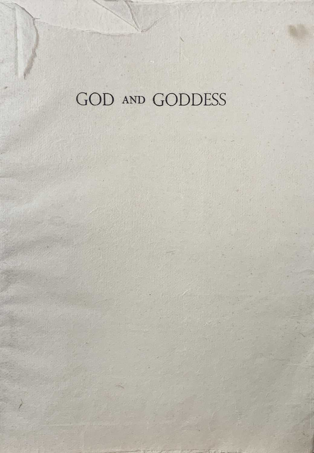 Andrew WADDINGTON God and Goddess A limited edition of four woodcuts 1990 Together in the Hendra