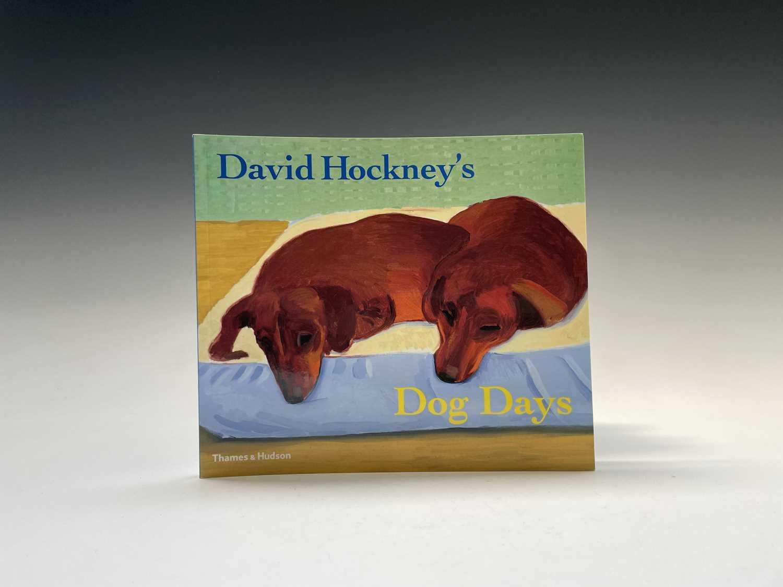 Three David Hockney publications: Portrait of David Hockney, Peter Webb, first edition 1988, - Image 3 of 7