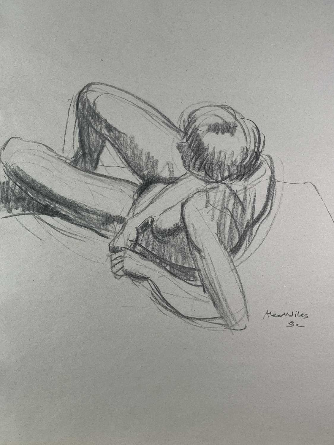 Alec WILES (1924) Nude drawings A collection of twenty Mostly signed Mostly 60x42 - Image 10 of 20