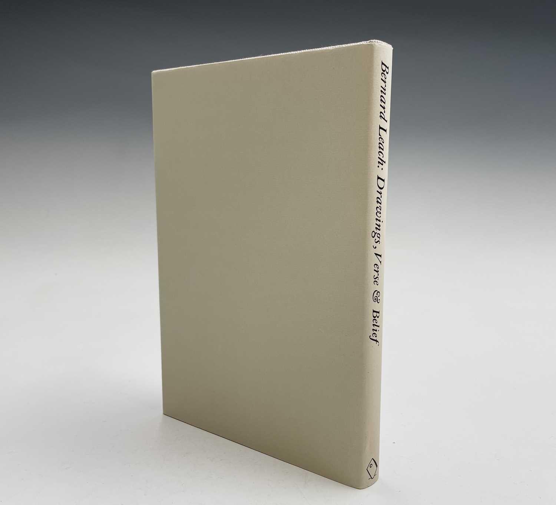 Bernard Leach - a signed copy of 'Drawings, Verse & Belief'. - Image 4 of 4
