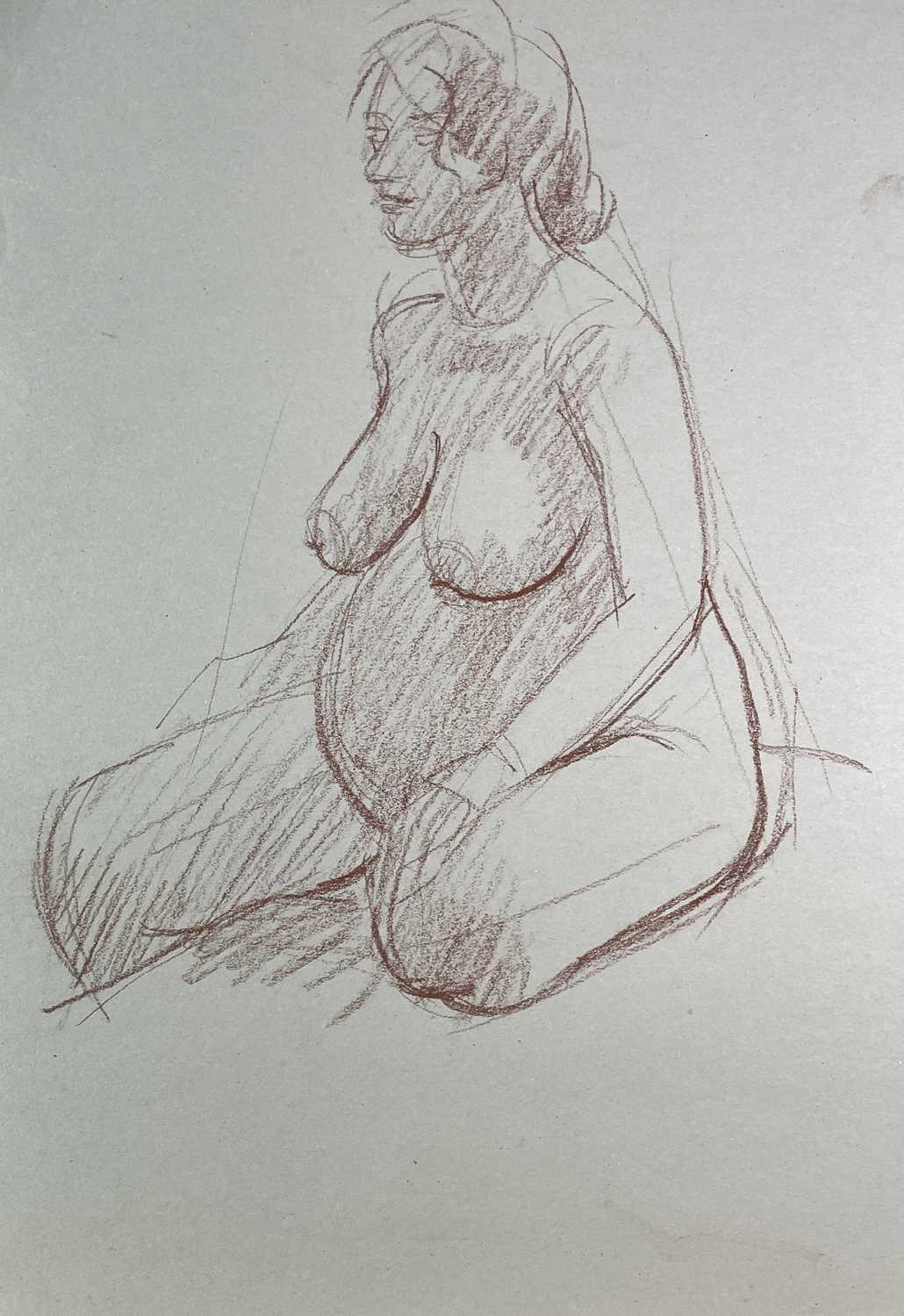 Alec WILES (1924) Nude drawings A collection of twenty Mostly signed Mostly 60x42 - Image 5 of 20