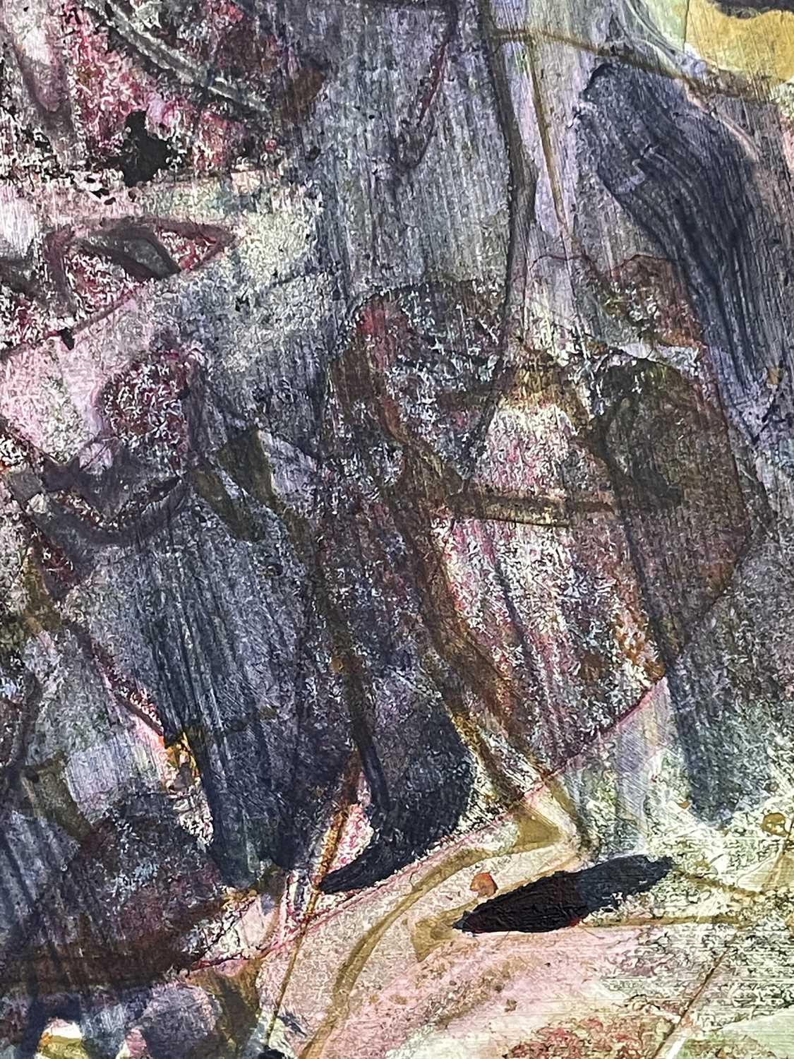 Jack DAVISBoswens StoneMixed media on boardInitialled Signed, inscribed and dated 2017 to verso 61 x - Image 2 of 4