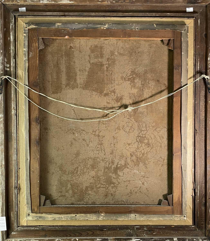 After Edwin Landseer Blacksmith Oil on canvas 76x63cm - Image 3 of 3
