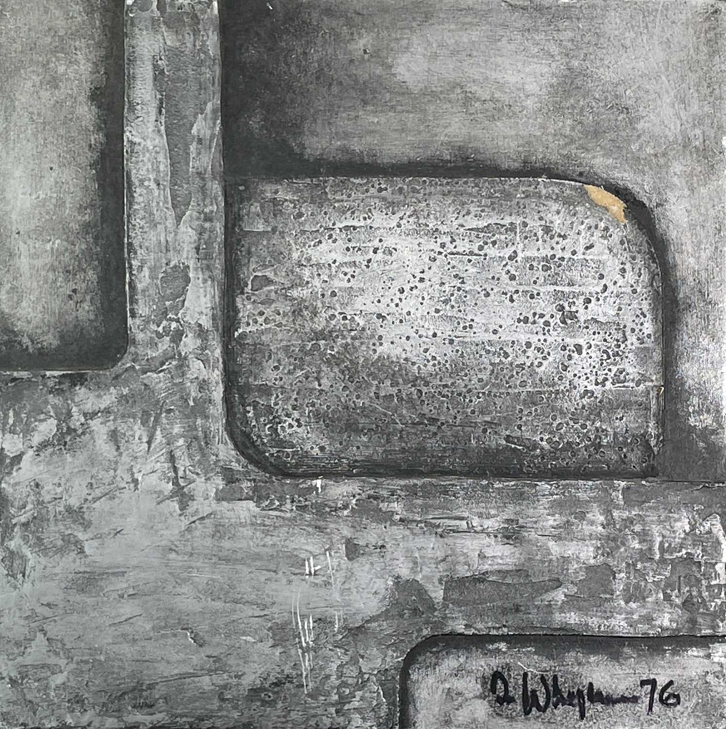 Terry WHYBROW (1932-2020)Untitled, ReliefMixed media, silveredSigned and dated '7633x34cm together - Image 2 of 8