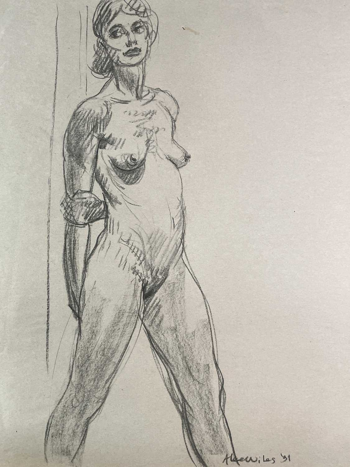 Alec WILES (1924) Nude drawings A collection of twenty Mostly signed Mostly 60x42 - Image 20 of 20