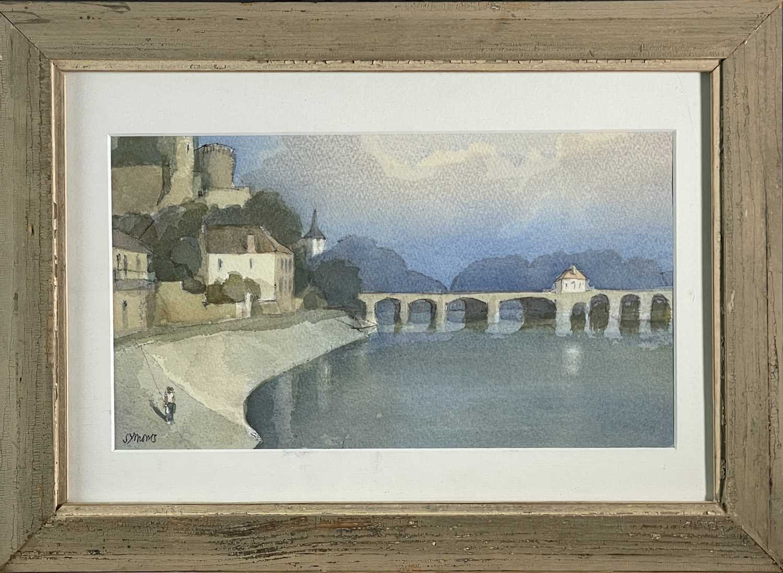 Ken SYMONDS (1927-2010)Pont d'Avignon, FranceWatercolourSigned 19 x 33cm&Still Life Watercolour - Image 5 of 7