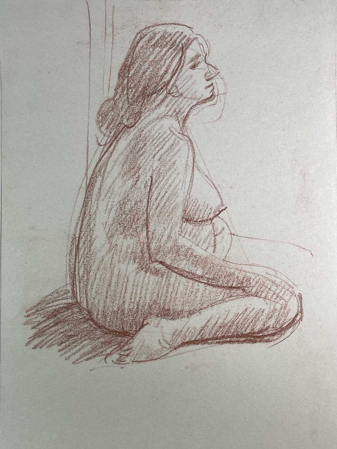 Alec WILES (1924) Nude drawings A collection of twenty Mostly signed Mostly 63x42 - Image 4 of 17