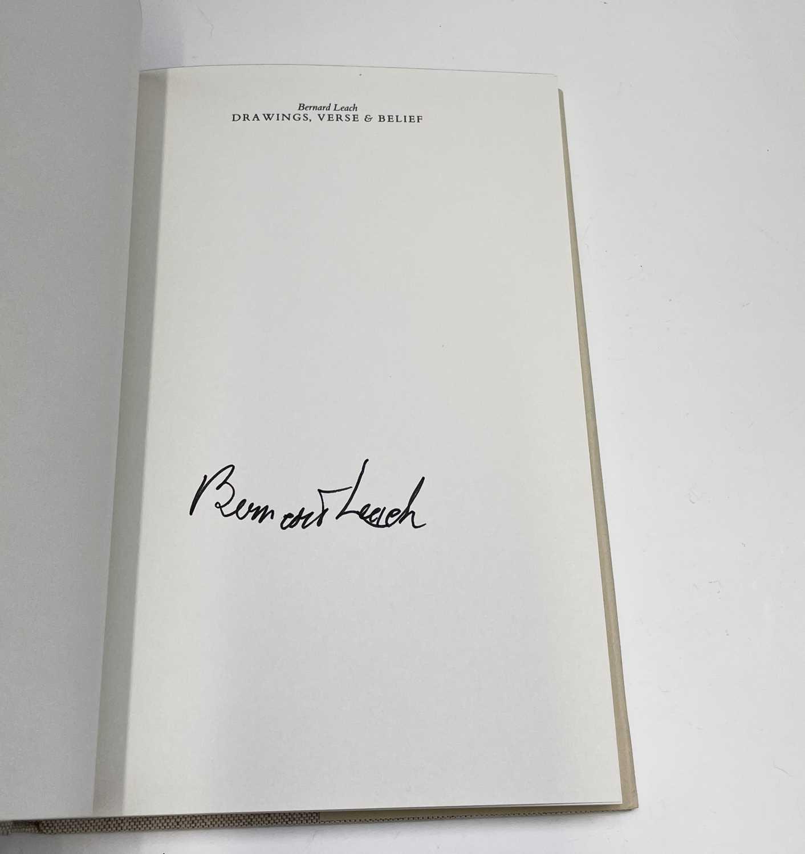 Bernard Leach - a signed copy of 'Drawings, Verse & Belief'. - Image 3 of 4