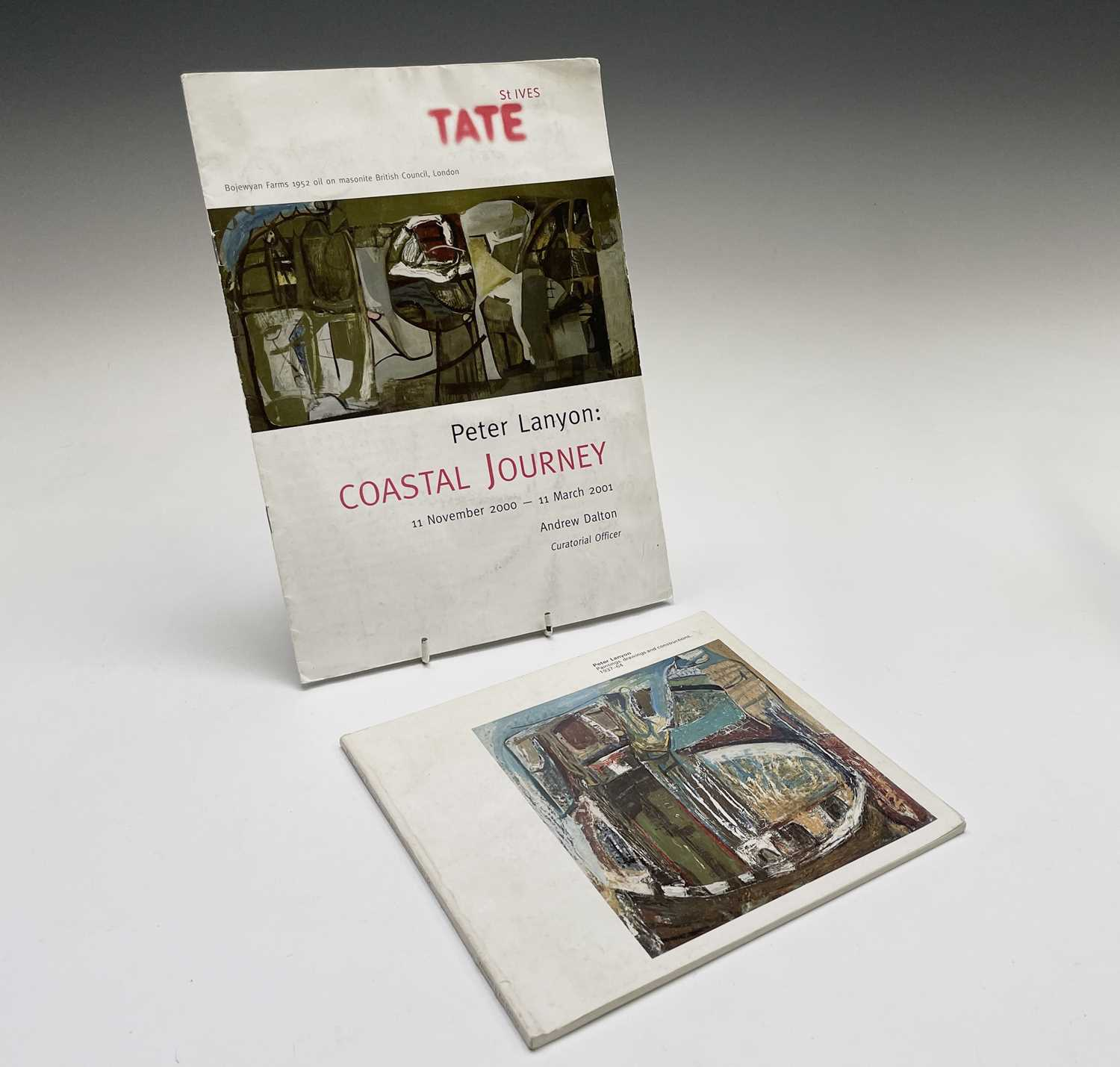 'Peter Lanyon: Paintings, drawings and constructions, 1937-64' catalogue, together with a Tate