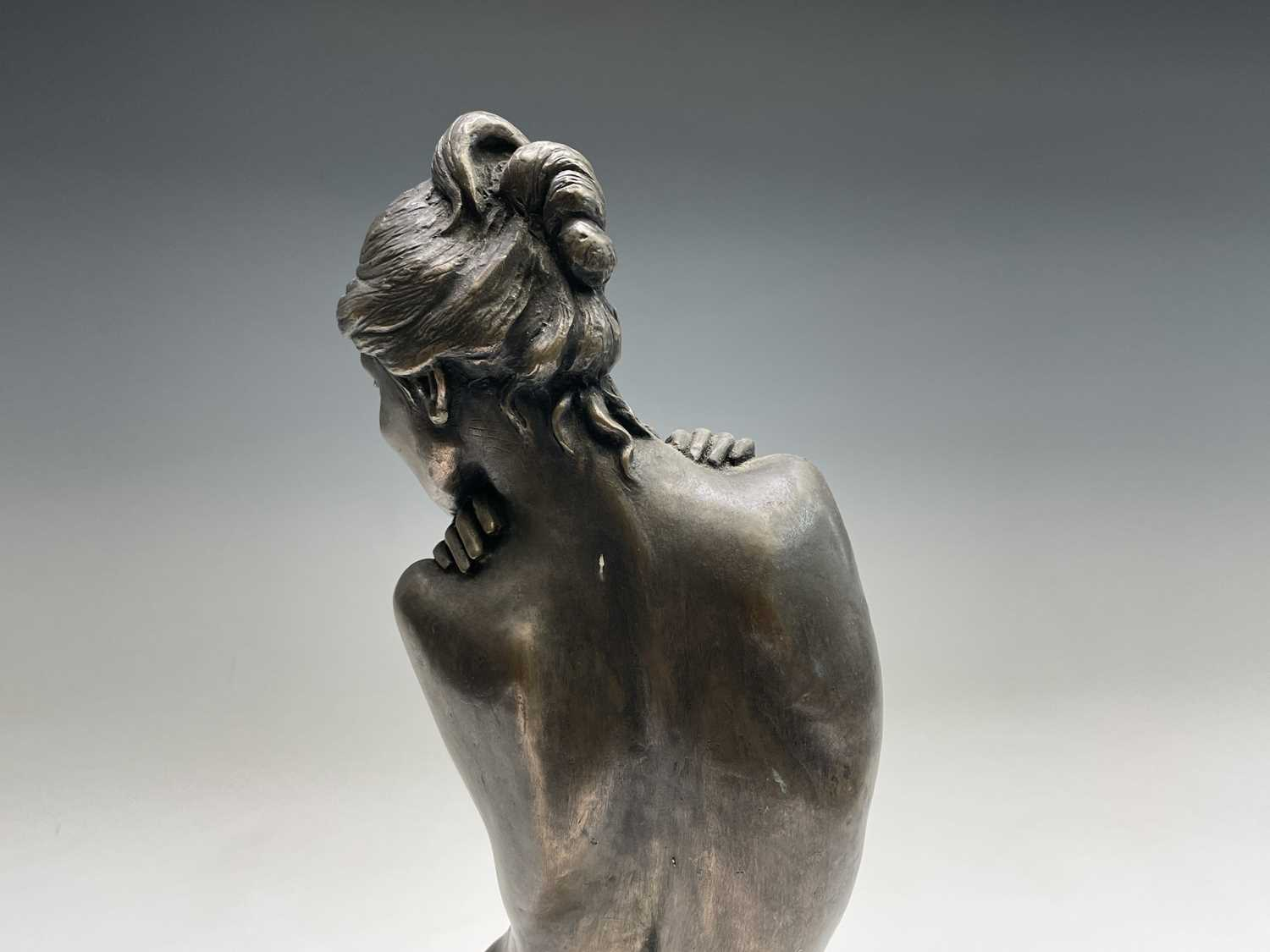 Alec WILES (1924)Female Form Bronzed resin sculpture Signed Height 36.5cm - Image 5 of 11