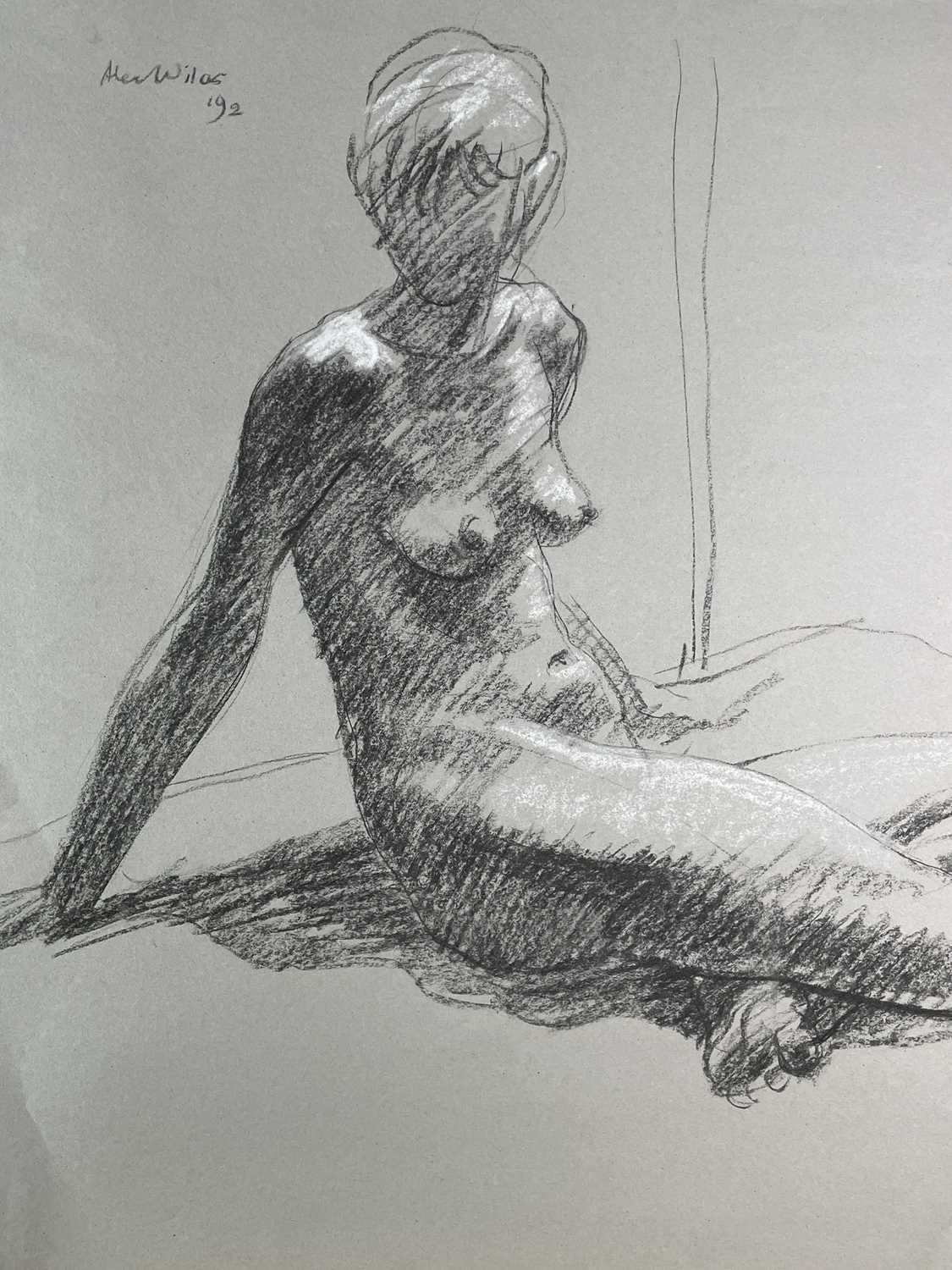 Alec WILES (1924) Nude drawings A collection of twenty Mostly signed Mostly 63x42 - Image 17 of 17
