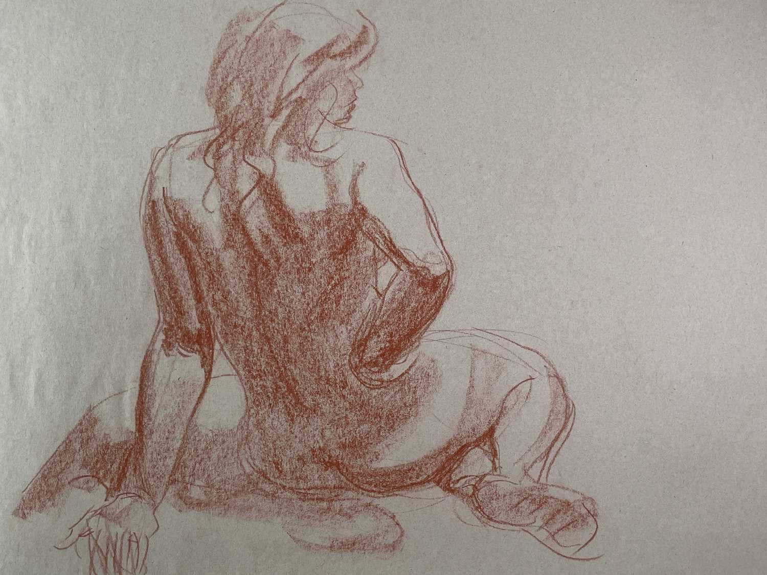 Alec WILES (1924) Nude drawings A collection of twenty Mostly signed Mostly 60x42 - Image 9 of 20