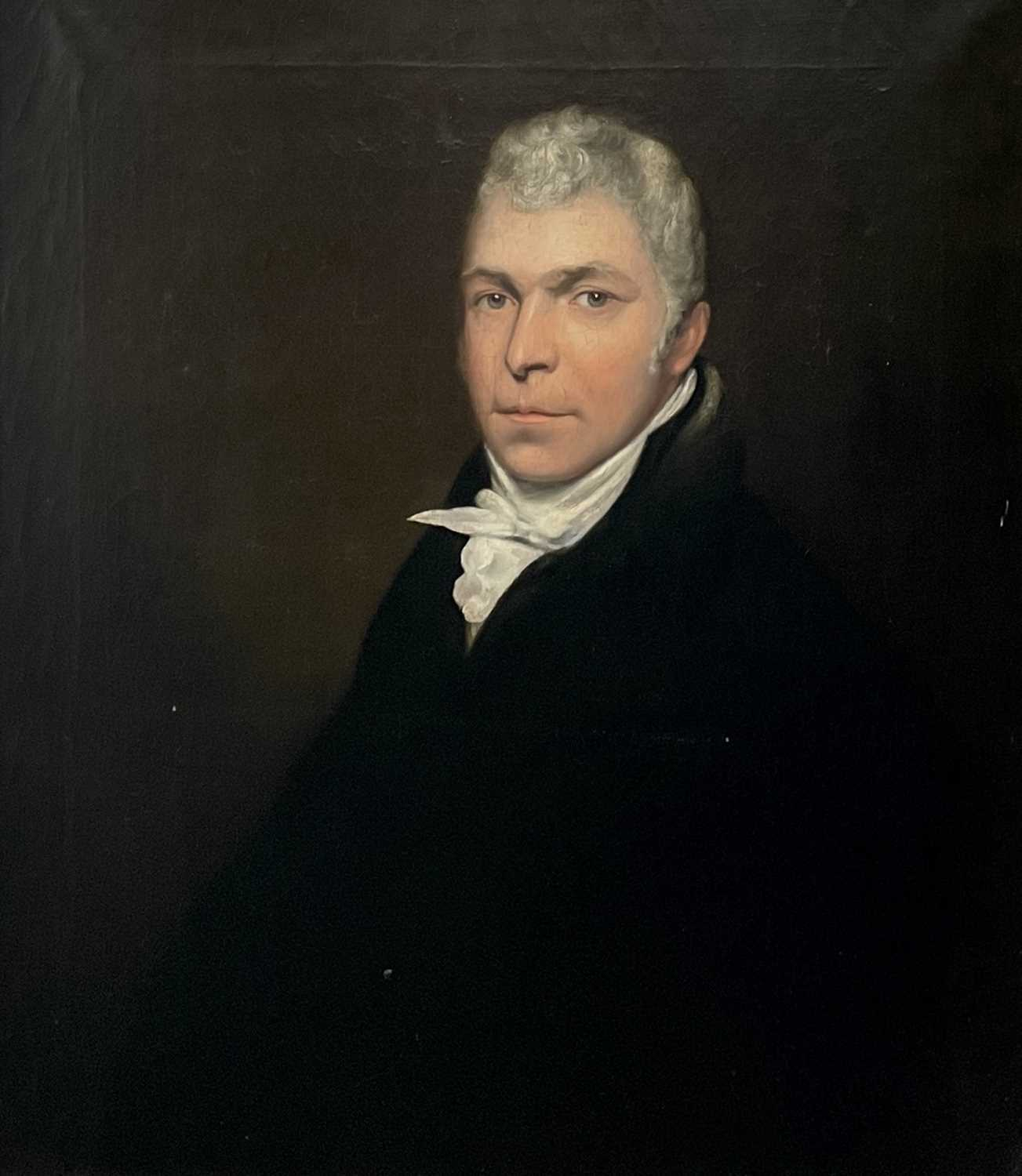 Circle of John OPIE (1761-1807) By repute, a portrait of a member of the Pitcairn family, possibly