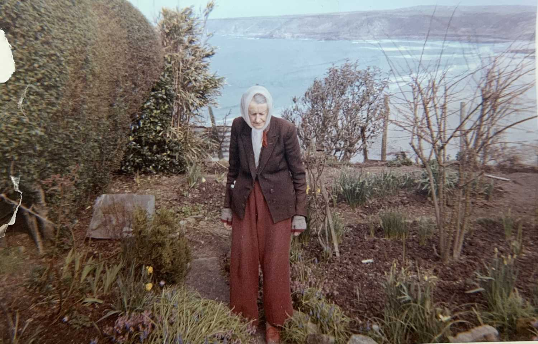 Lilian BLAND (1878-1971) (Aviator)Sennen SeascapeWatercolour/gouache28x43cmNews article to verso - Image 5 of 7
