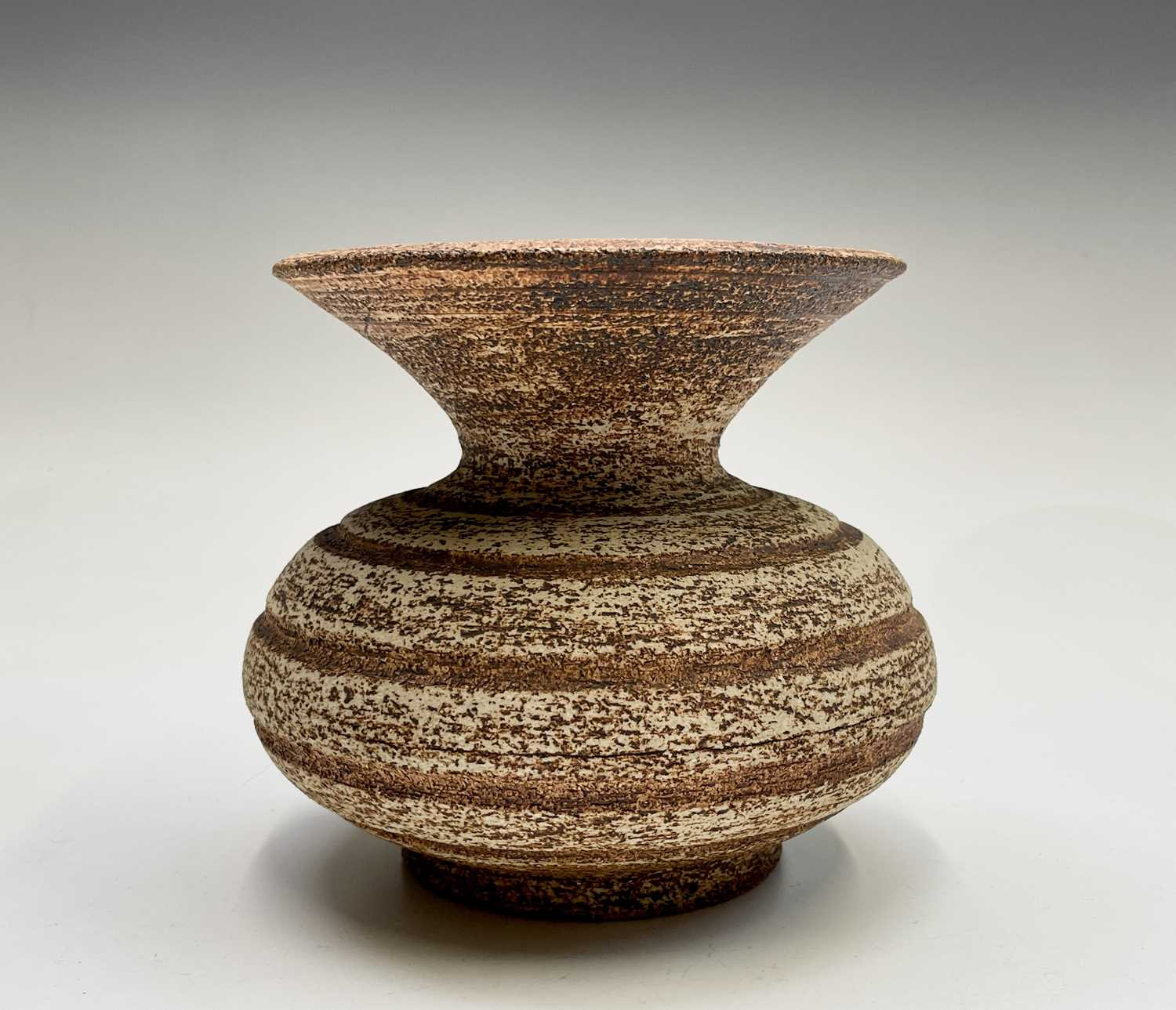 Waistel COOPER (1923-2003) Squat Form Vase with banded decoration and textured glaze Signed to - Image 7 of 9