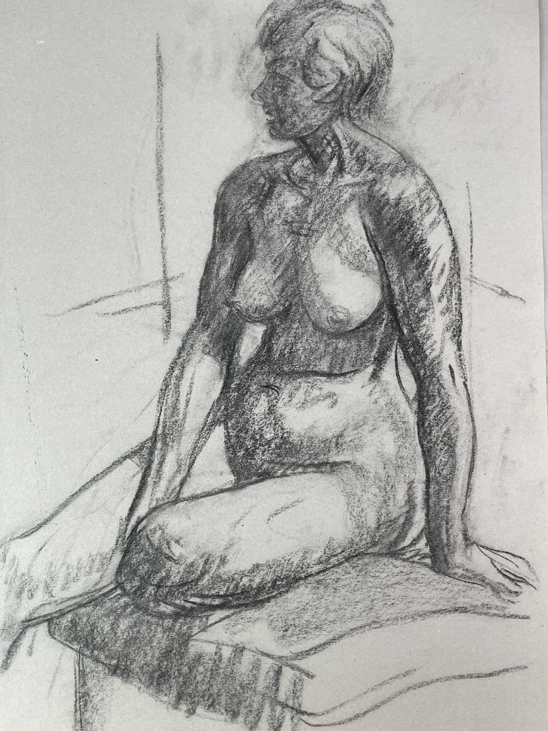 Alec WILES (1924) Nude drawings A collection of twenty Mostly signed Mostly 63x42 - Image 9 of 17