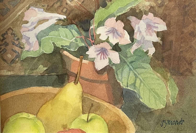 Ken SYMONDS (1927-2010)Pont d'Avignon, FranceWatercolourSigned 19 x 33cm&Still Life Watercolour - Image 6 of 7