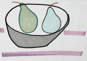 Jessica COOPER (1967)What a Pair Pen on paper Signed, inscribed and dated 2013 to verso 10.5 x 15cm