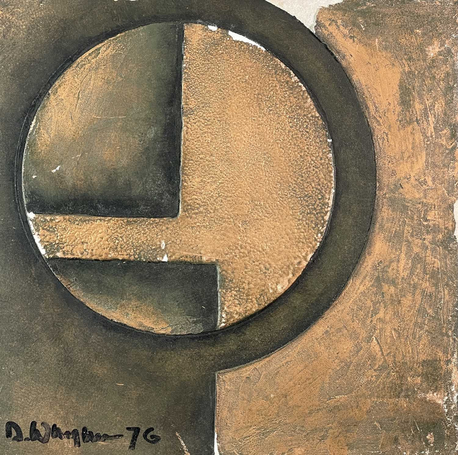 Terry WHYBROW (1932-2020)Untitled, ReliefMixed media, silveredSigned and dated '7633x34cm together - Image 6 of 8