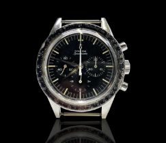A rare and desirable Omega Speedmaster wristwatch with calibre 321 movement number 19332130 circa