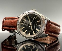An Omega 1960s Seamaster 300 stainless steel wristwatch, model 165014 with cal.552 automatic
